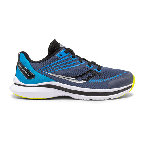 Boys' Kinvara 12 Running Shoe - Navy