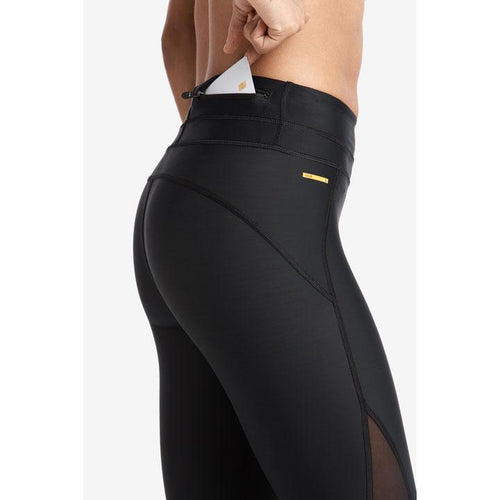 Women's Run Capris - Black