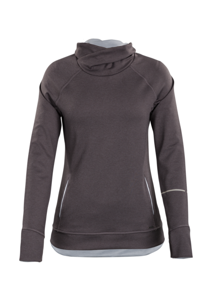 Womens Coast Pullover-Grey