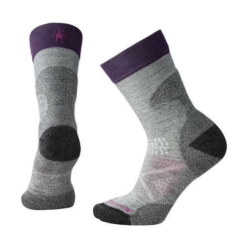 Women's PhD® Pro Outdoor Light Crew Socks - Light Grey