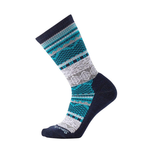 Women's Dazzling Wonderland Crew Socks - Deep Navy Heather