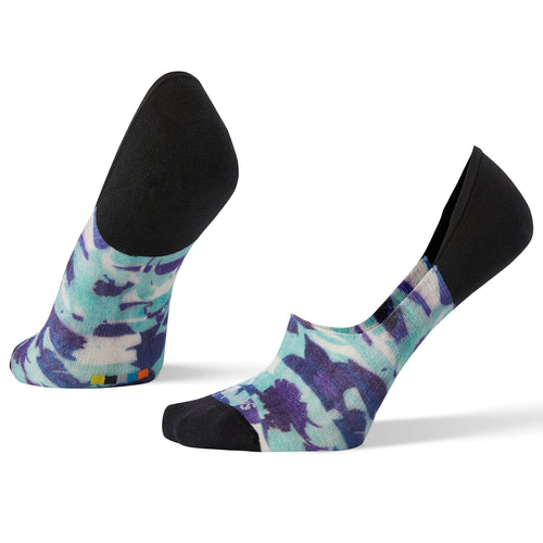 Women's Curated Sailing Stripe No Show Sock - Multi