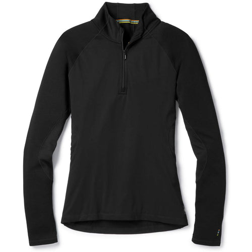 Women's PhD Light Wind Zip T-Shirt- Black