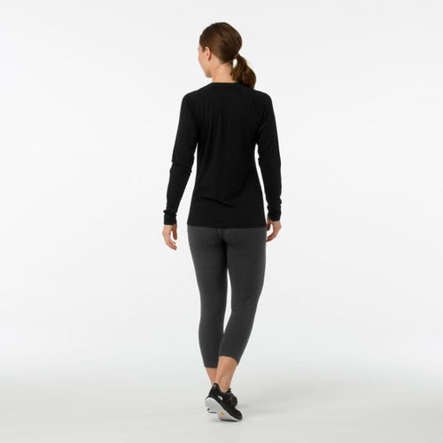 Women's Merino 150 Base Layer Long Sleeve Top - Black