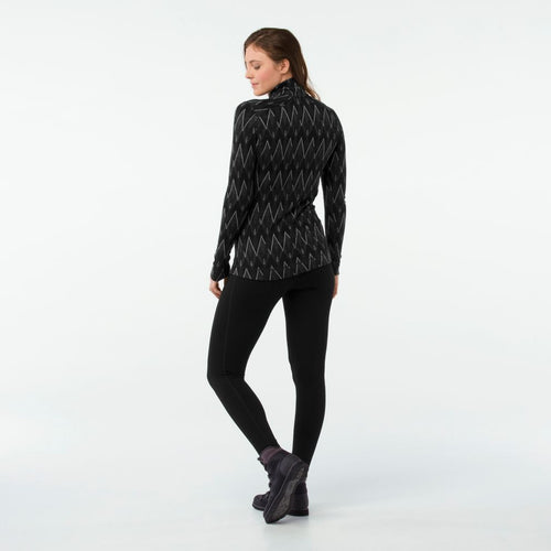 Women's Merino 250 Base Layer Pattern 1/4 Zip Shirt