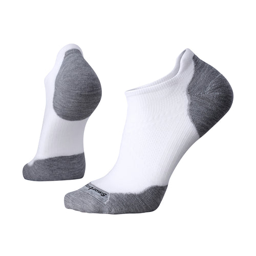 Men's PhD Run Elite Micro Socks - White/Light Grey