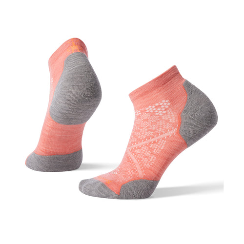 Women's PhD® Run Light Elite Low Cut Socks - BRIGHT CORAL
