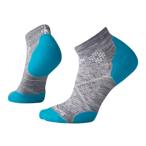 Women's PhD® Run Light Elite Low Cut Socks - Light Gray/Capri