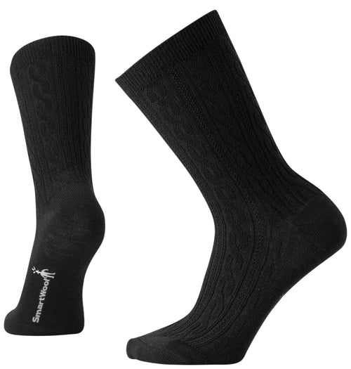 Women's Cable II Sock - Black