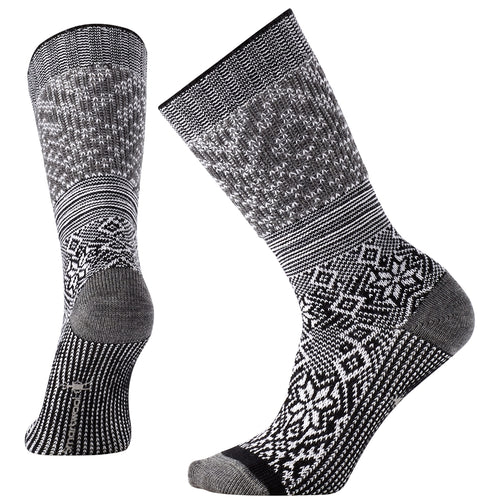 Women's Snowflake Flurry Socks - Black