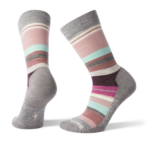 Women's Saturnsphere Socks - Light Gray/Mint