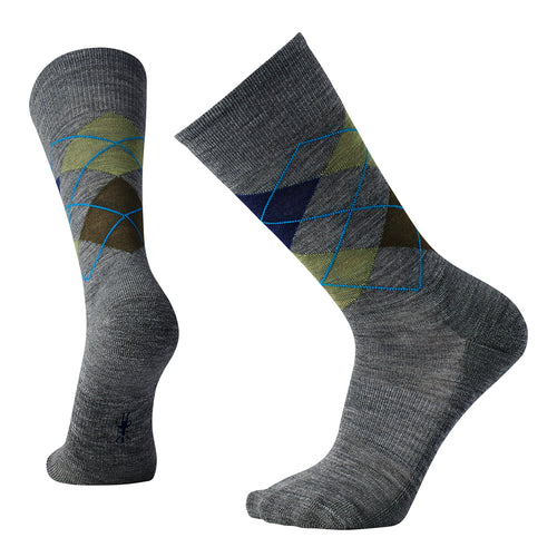 Men's Diamond Jim Socks - Deep Navy Heather/Medium Gray Heather