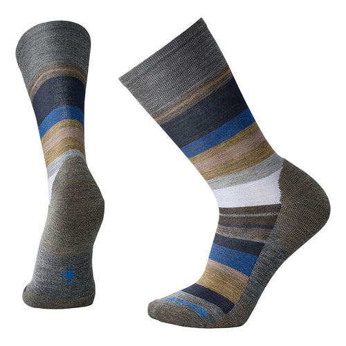 Men's Saturnsphere Sock - Medium Grey Heather/Light Grey Heather