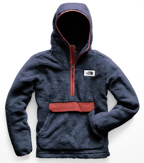 Men's Campshire Pullover Hoodie - Urban Navy/Caldera Red