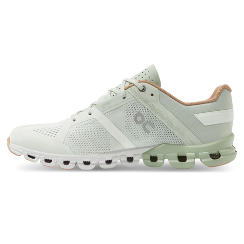 Women's Cloudflow Running Shoe - Aloe/White