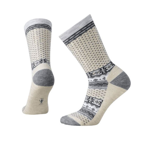 Women's Cozy Cabin Crew Sock - Natural