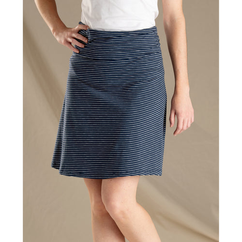 Women's Chaka Skirt - Navy Stripe