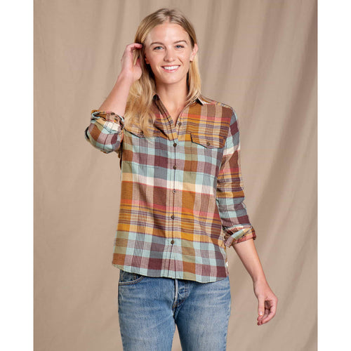 Women's Re-Form Flannel Shirt - Breakwater
