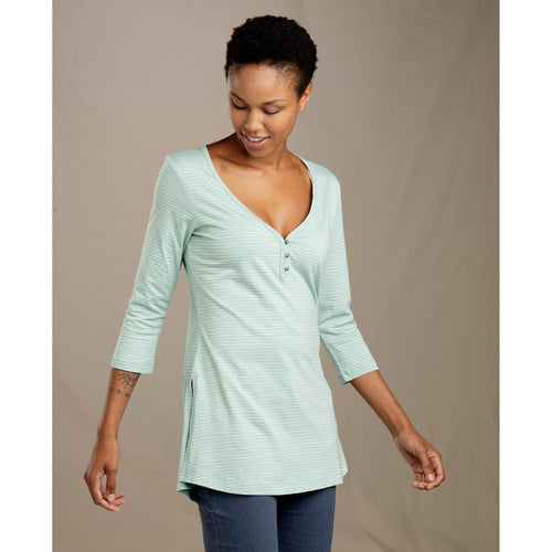 Women's Tamaya Tres Tunic - Aquifer Mini Stripe