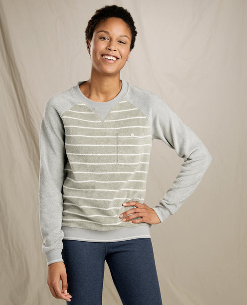 Womens Cashmoore Pullover -Light Grey
