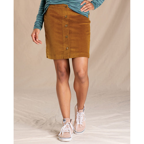 Women's Cruiser Cord Skirt - Husk