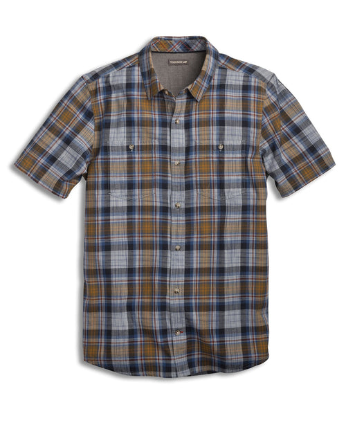 Smythy Short Sleeve Shirt -True Blue