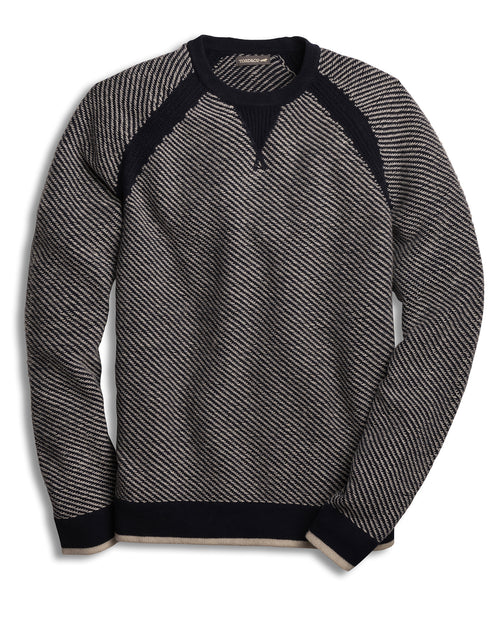 Men's Strahlhorn Crew Sweater - Deep Navy