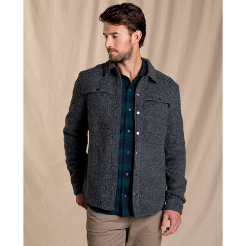 Men's Telluride Sherpa Shirtjac - Charcoal Heather