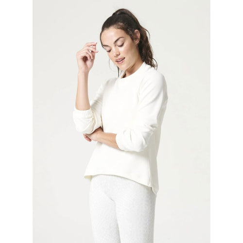 Women's Sleek Sweat Shirt - Coconut