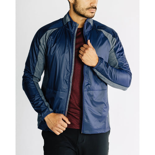 Men's Tech Terry Full Zip Jacket- Tasman Blue