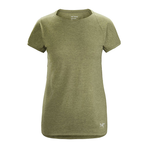 Women's Taema Crew Short Sleeve Shirt - Light Tatsu Heather