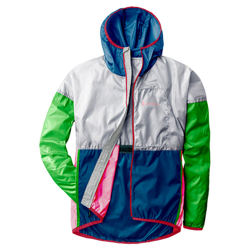 Unisex Teca Windbreaker Full Zip Jacket - Freshy Fresh