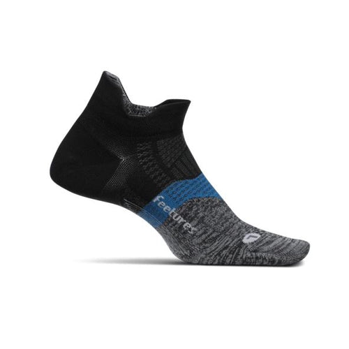 Unisex Elite Ultra Light No Show Socks - Iron Ore
