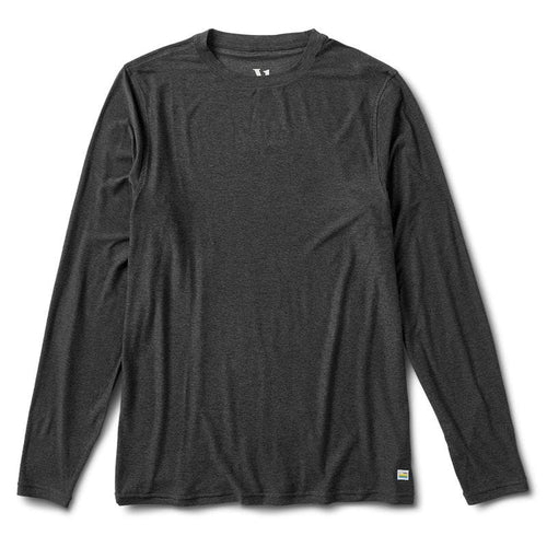 Men's Long Sleeve Strato Tech Tee - Charcoal Heather