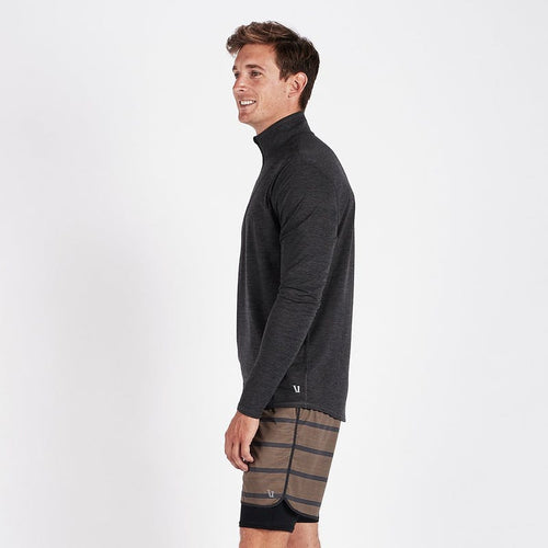 Men's Ease Performance 1/2 Zip - Charcoal Heather