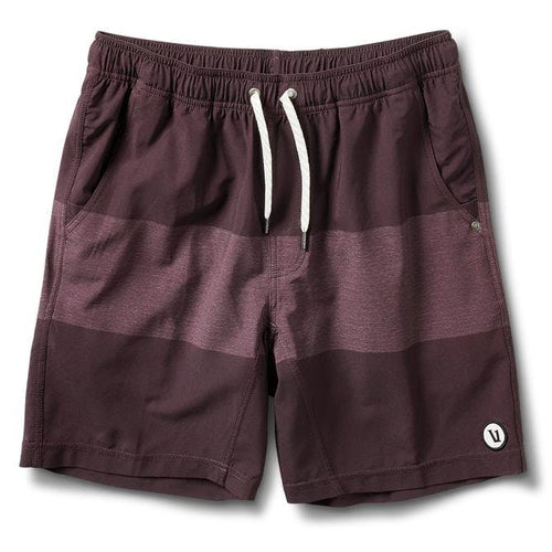 Men's Kore Short - Oxblood Texture Block