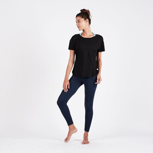 Women's Lux Performance Tee - Black