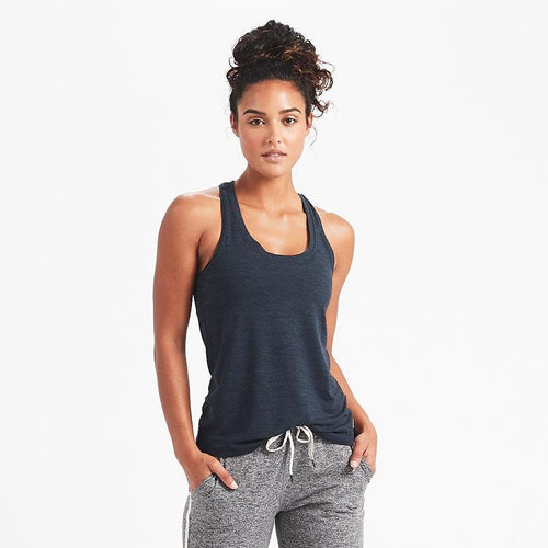 Women's Lux Performance Tank - Ink Heather