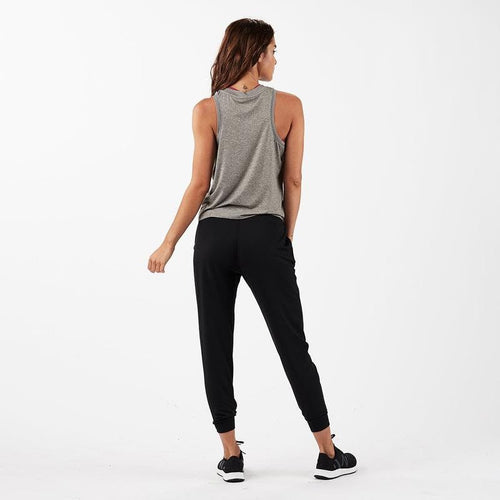 Women's Energy Top - Heather Grey