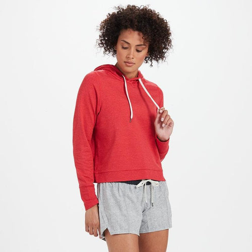 Women's Halo Essential Hoodie - Melon Heather