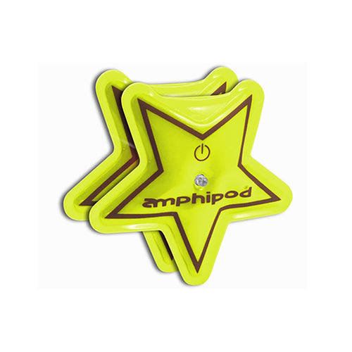 Flash Star LED Twin Pack Lights - Yellow