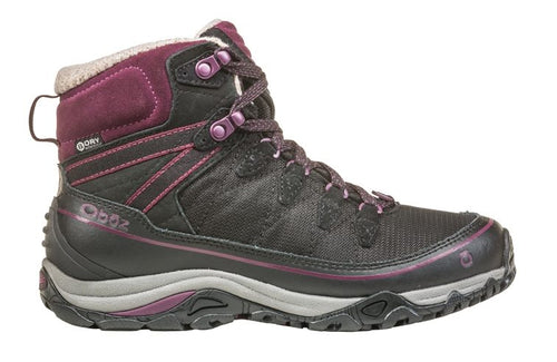 "Women's Juniper 6"" Insulated Waterproof Boot - Eclipse Black/Beet"