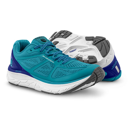 Women's Phantom Running Shoe - Aqua/Cobalt