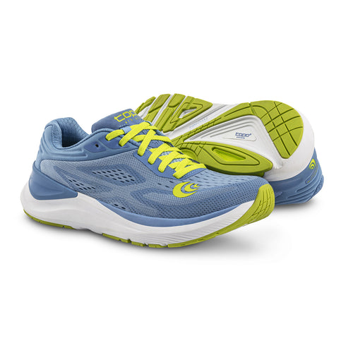 Women's Ultrafly 3 (B - Regular) Running Shoe - Periwinkle/Lime