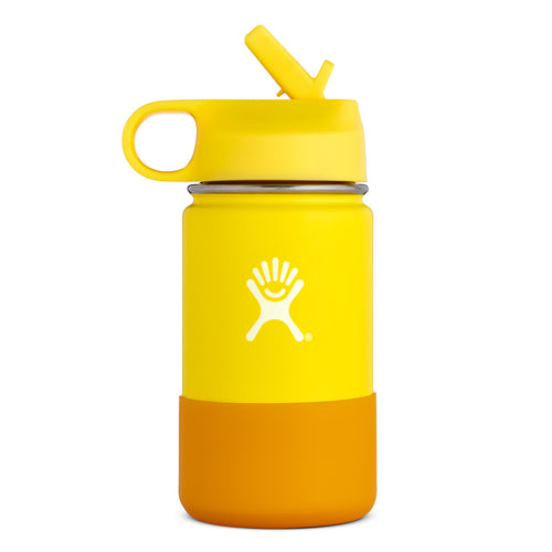 12 oz Kids Wide Mouth Water Bottle - Lemon