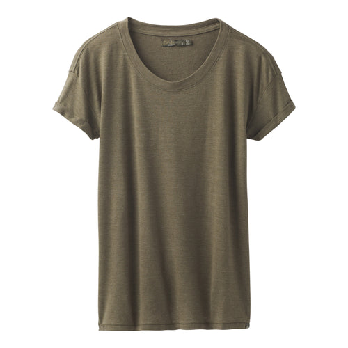 Women's Cozy Up T-Shirt - Cargo Green Heather