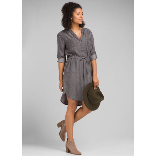 Women's Abbey Dress - Grey Wash