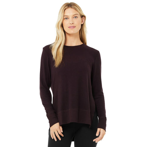 Women's Glimpse Long Sleeve - Oxblood