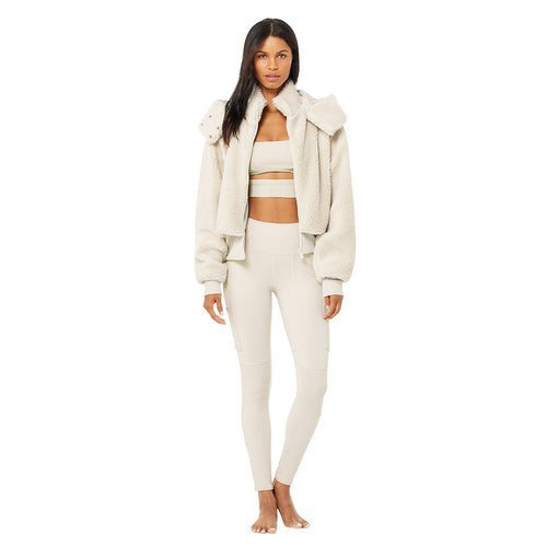 Women's Foxy Sherpa Jacket - Bone