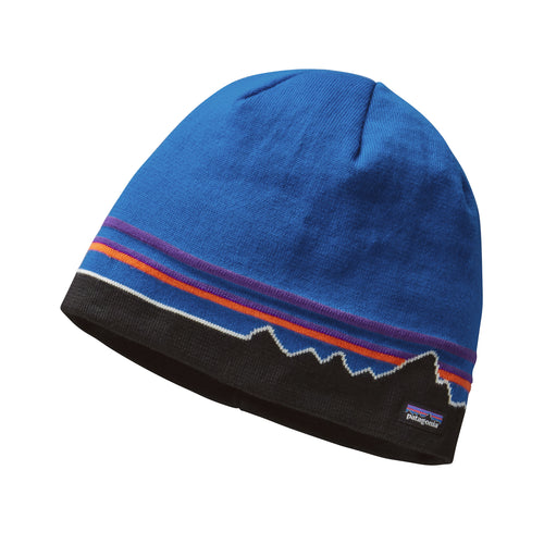 Men's Beanie Hat - Classic Fitz Roy: Andes Blue